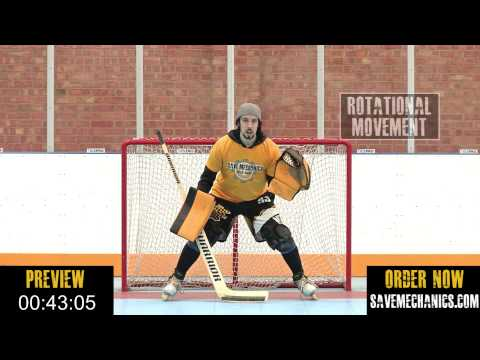 Save Mechanics DVD for Roller and Ice Hockey Goalies Teaser : The Tool Box (DVD #2)