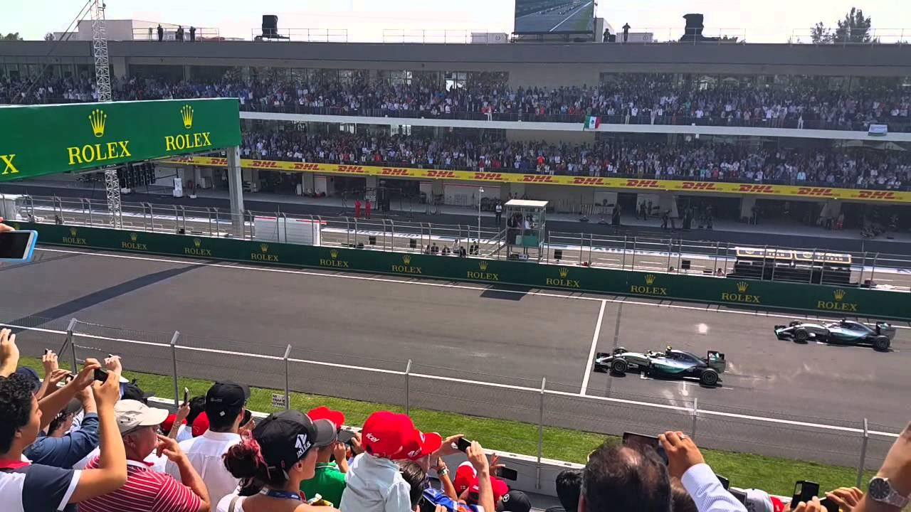 F1 mexico salida inicial autodromo hermanos rodriguez for Puerta 2 autodromo hermanos rodriguez