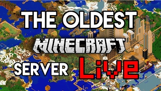 Exploring Oldest Server In Minecraft (Live)