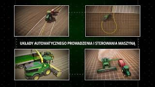System automatycznego prowadzenia AutoTrac 300 | John Deere