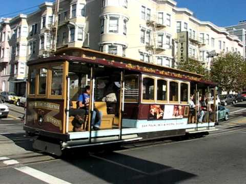 CABLE CAR ON CALIFORNIA STREET - LINE 61
