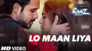 LO MAAN LIYA FULL KARAOKE Raaz Reboot | Arijit Singh | Emraan Hashmi