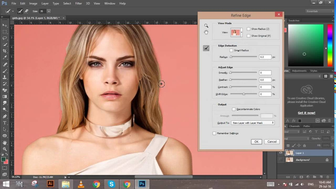 How to Change Background Color to Effect color in Photoshop CC     How to Change Background Color to Effect color in Photoshop CC   Design Team