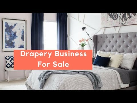 Upholstery and Drapery Workroom For Sale