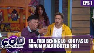 Komeng Jail Banget... Hahhaaa Daus Dibikin Jatuh!!! | Comedy Ok Deh | Eps.1 | (2/3)