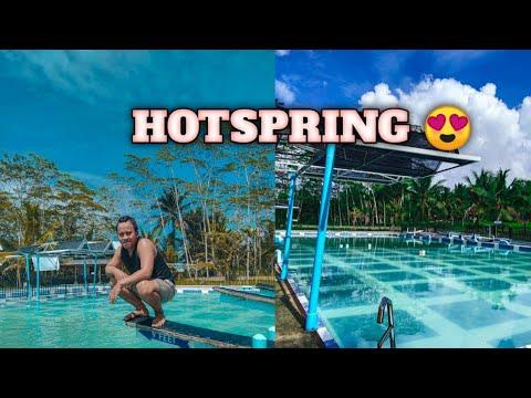 hot spring of bislig city   celebrating the b-day   xhan lee tv
