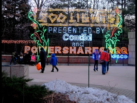 ZooLights  Lincoln Park Zoo   Chicago   2016