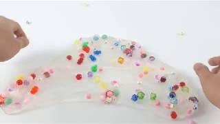 슬라임, 액체괴물, 비즈 모두 섞기!! Mix all of Slime, Liquid Monster and Beads