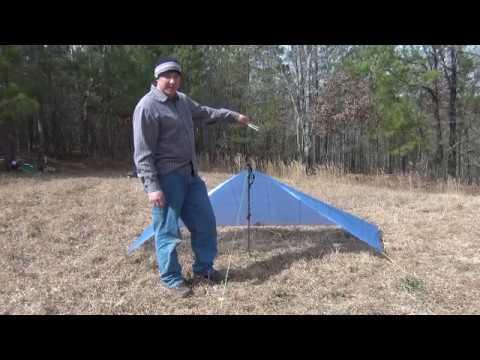 Cuben Fiber Tarp & Cuben Fiber Tarp - YouTube