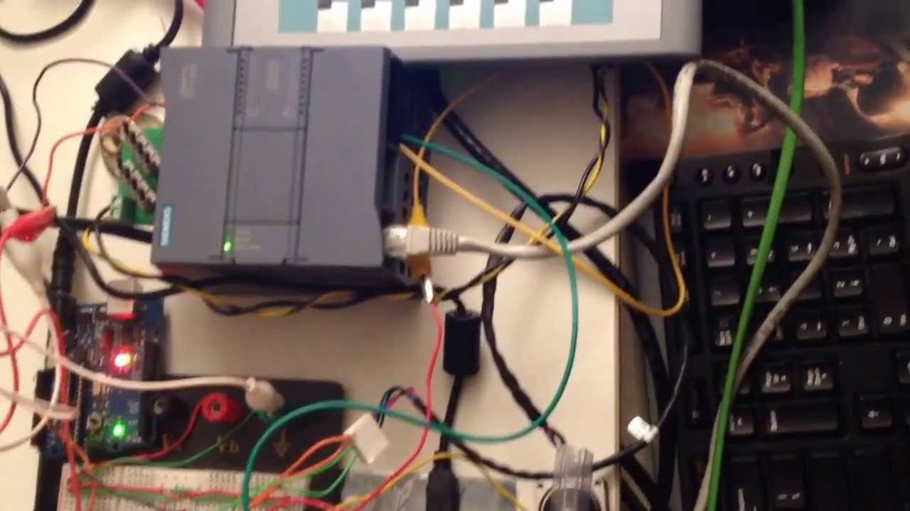 Siemens S7 C Plc Interfacing With Arduino