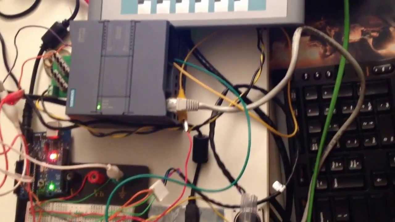 Siemens S7 C Plc Interfacing With Arduino