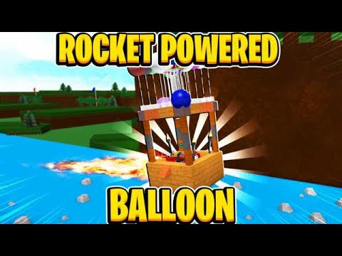 Rocket Powered Balloon In Build A Boat For Treasure In Roblox - balloon gamepass roblox