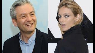 Robert Biedroń i Anja Rubik.