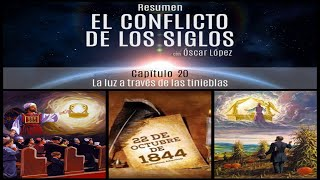 El Conflicto de los Siglos - Resumen - Capítulo 20 – La luz a través de las tinieblas