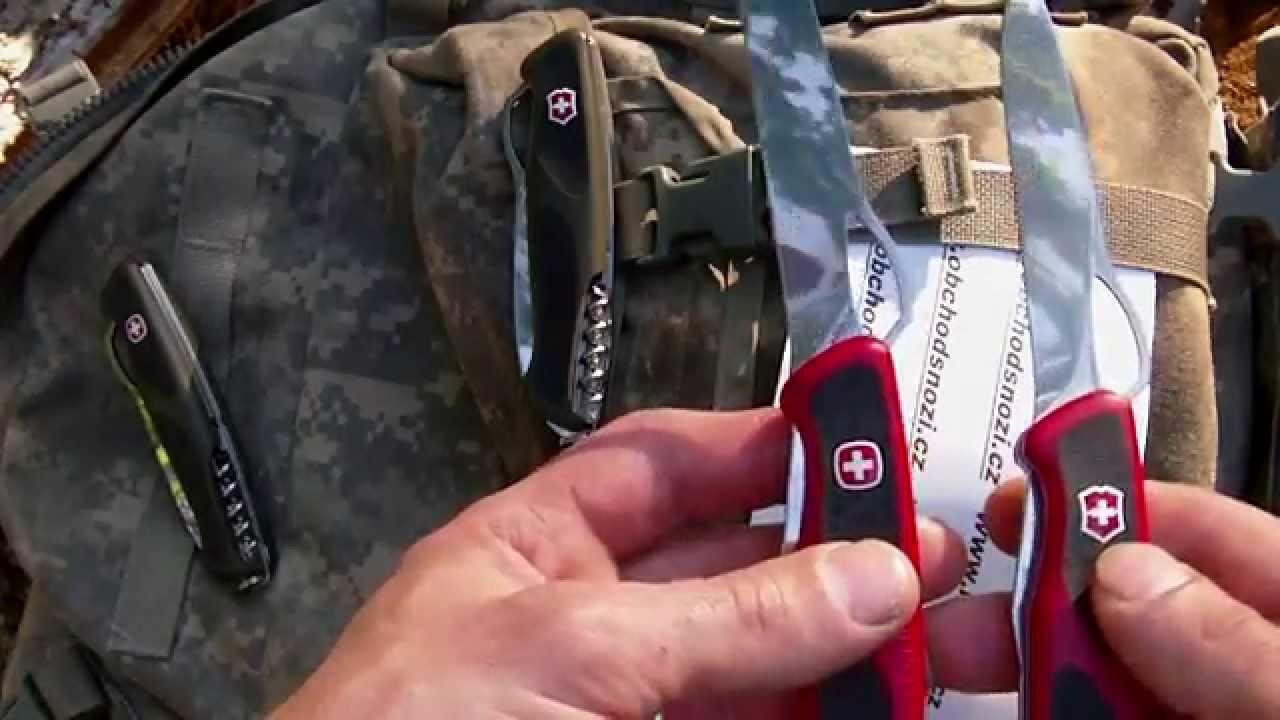 Victorinox Del 233 Mont Ranger Grip 61 Youtube
