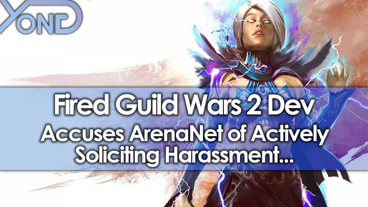 Fired Guild Wars 2 Dev Accuses ArenaNet of Actively Soliciting Harassment...