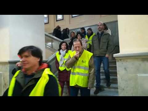Los chalecos amarillos inspiran una nueva protestas contra la RPT del Concello