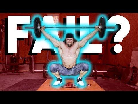 Bodybuilder Tries Weightlifting