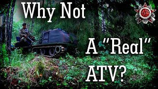 Awesome Ultra-Light Tracked Vehicle For The Outdoors 2018 (Big Moose Encounter)