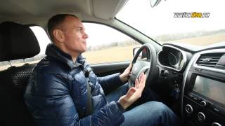 Тест-драйв: Renault Sandero vs Datsun mi-DO(Мы взяли два самых свежих бюджетных хетчбека и решили выяснить, какой из них лучше! Renault Sandero и Datsun mi-DO в прямо..., 2015-04-27T20:37:10.000Z)