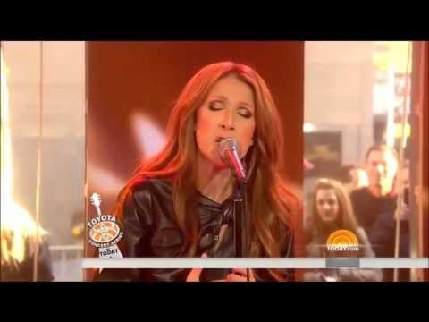Celine Dion - Water And A Flame (The Today Show) 2014