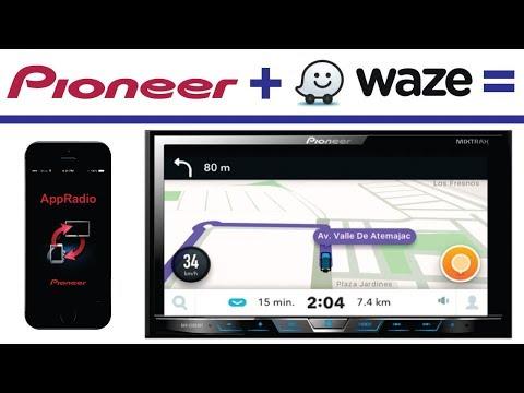 Radios Pioneer (AVH), APP Radio y Waze