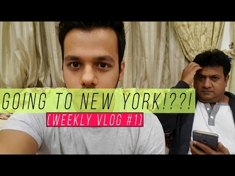Going To New York!?!! (Weekly Vlog #1)