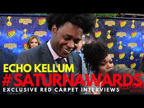 Echo Kellum #Arrow interviewed at the 42nd Annual Saturn Awards #SaturnAwards