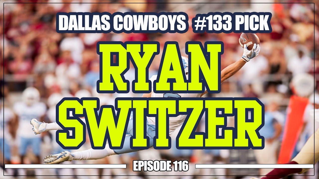 Dallas Cowboys select Ryan Switzer in NFL Draft