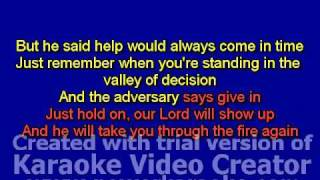 Through the Fire Karaoke