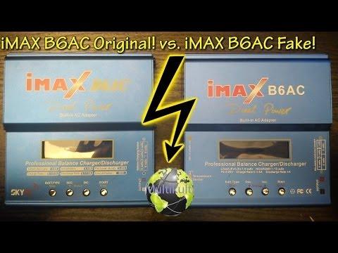 Reupload iMAX B6AC Original! vs. iMAX B6AC Fake!  | FULL HD | Deutsch