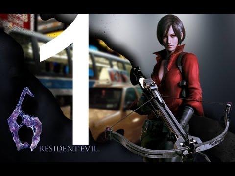 Прохождение Resident Evil 6 PC - Компания Ада Вонг - Глава 1
