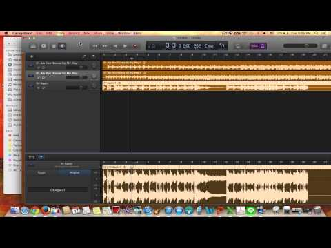 Change Tempo/BPM in New Garageband 10.0.2