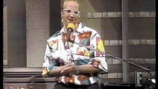 Chris Elliott as Paul Shaffer on Late Night, March 25, 1987
