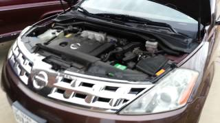 2004 Nissan Murano AWD with low power steering fluid (leak)