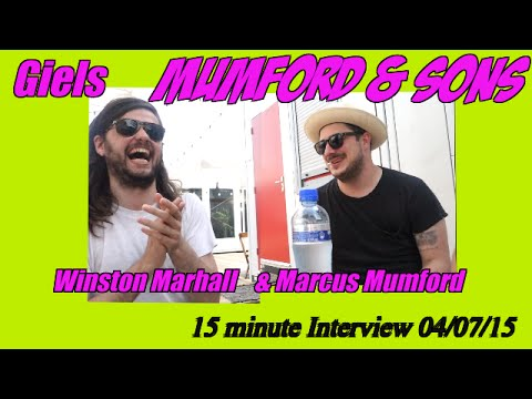 GIELS Mumford & Sons FULL interview with Marcus Mumford & Winston Marshall