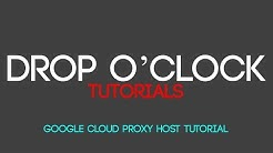 Proxy Server Hosting on Google Cloud Tutorial (SneakerHandbook Script)