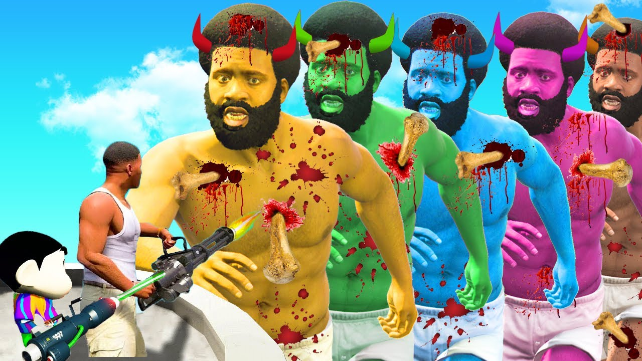 Download GTA 5 : Franklin Broke EVERY BONE In GTA 5 with Shinchan & pinchan! (GTA 5 mods)