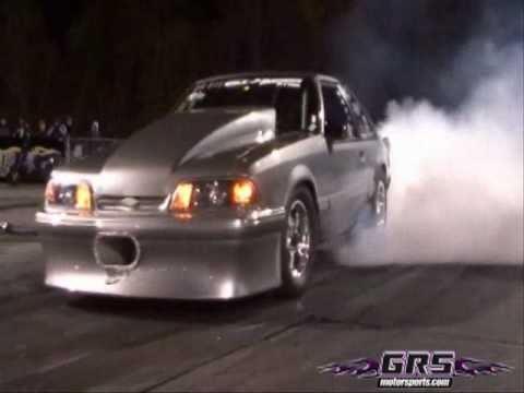John Carter ZR1 Corvette vs Hooker Fox Body Mustan...