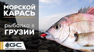 Морской карась на силикон Рокфишинг в Черном море Морская рыбалка