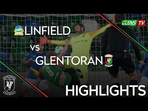 Linfield vs Glentoran - County Antrim Shield 23rd October 2018