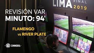 Flamengo vs River Plate, MINUTO: 94'