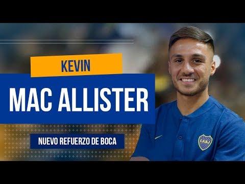 Conoce a Kevin Mac Allister | NUEVO REFUERZO de BOCA