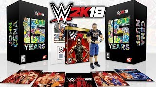 WWE 2K18 - COLLECTOR'S EDITION REVEALED!! 2 NEW LEGENDS CONFIRMED!! thumbnail