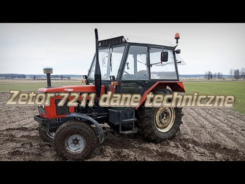 Zetor 7211 Dane Techniczne