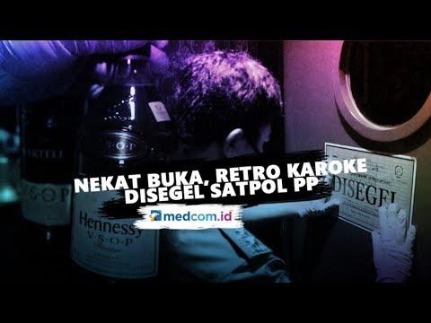 nekat-buka,-retro-karaoke-disegel-satpol-pp-kota-bandung