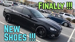Q50 Gets New Wheels and Tires | It Looks TOTALLY Different!!
