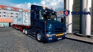 ETS2 1.28 Promods 2.20 Scania T 164L Rovaniemi to Honningsvåg