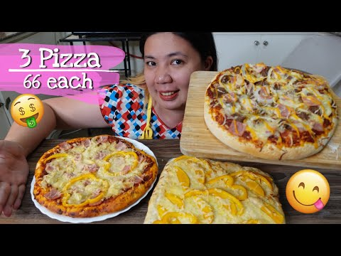 How to Make PIZZA at Home for Business, 3 Pizza Flavors Negosyo Recipe with Costing