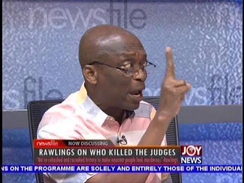 Who Killed the Judges: I wish Rawlings kept quiet - Newsfile on JoyNews (13-10-18)